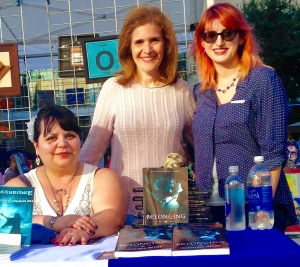 With the dream team 'Belonging' author-Chantell Renee, award winning author Andrea Barbosa, and award winning author Melissa Algood