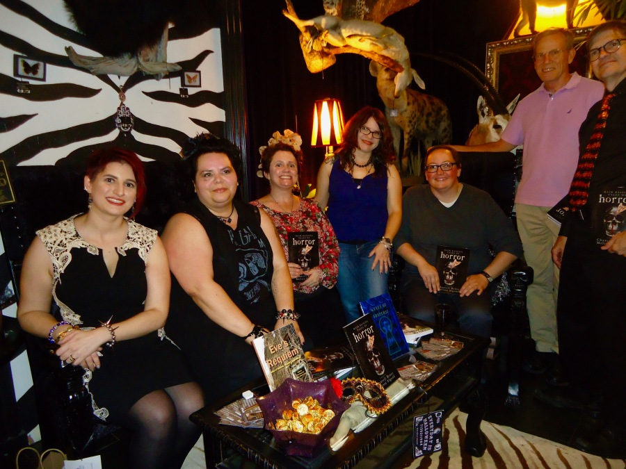 'Hair Raising Tales of Horror' release party